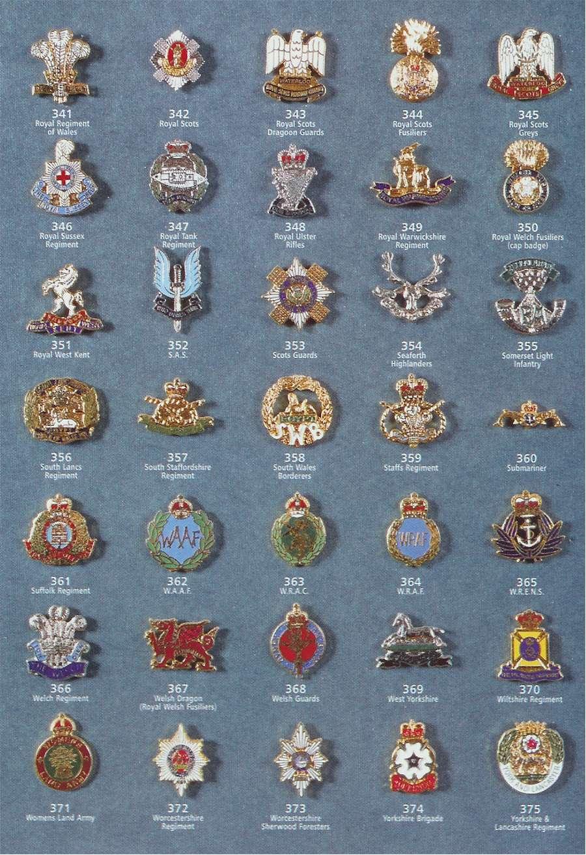 Regimental Ties | Regimental Badges | Heraldic Shields | Stephen