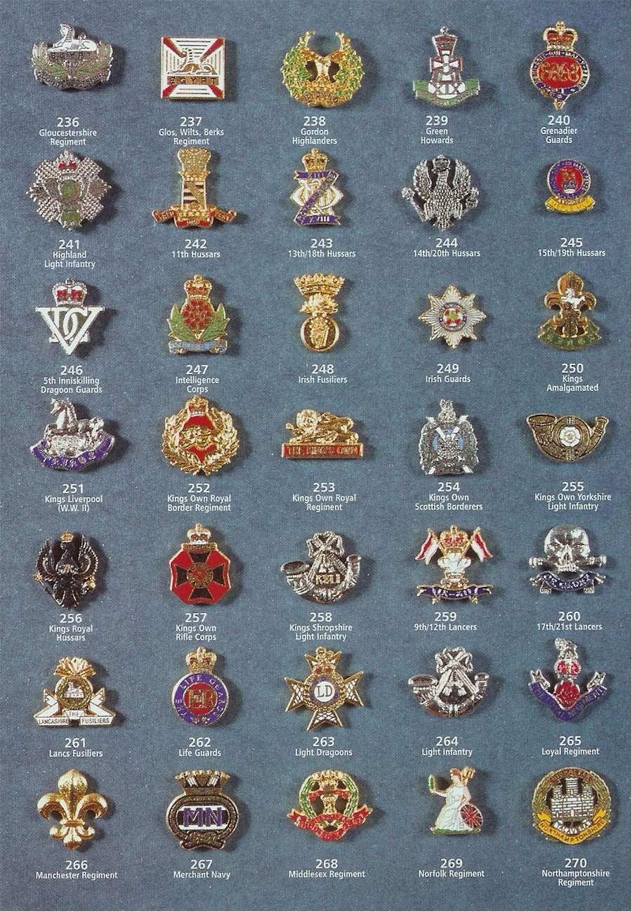 Military Badges Uk
